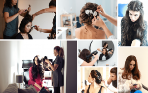 hair stylists at home collage