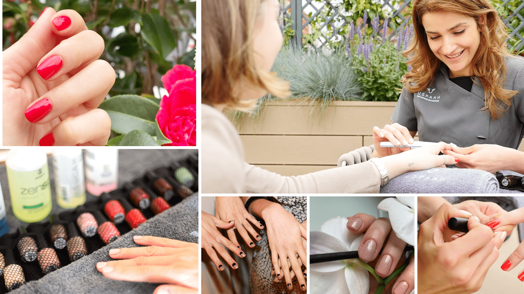 nails at home collage